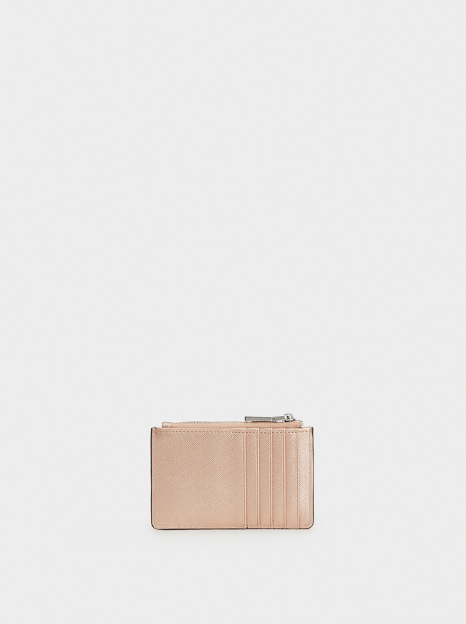 Nm Basic Card Holder, Orange, hi-res