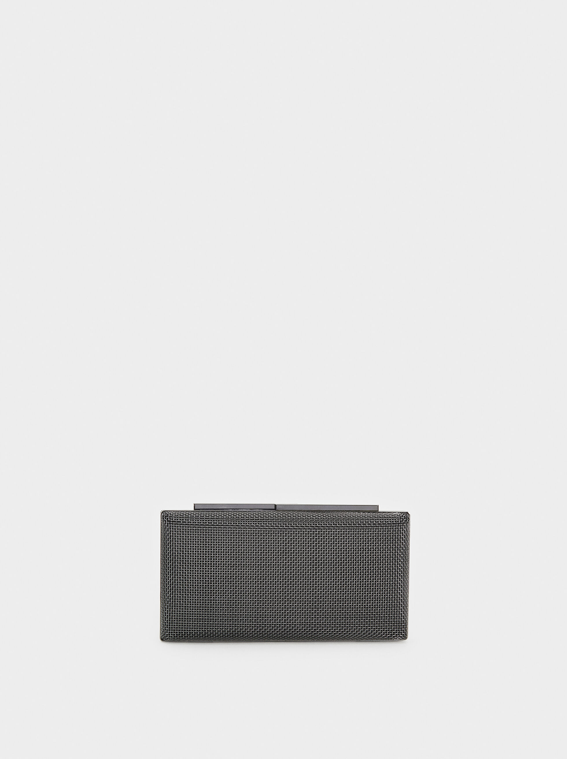 Metal Mesh Party Clutch, , hi-res