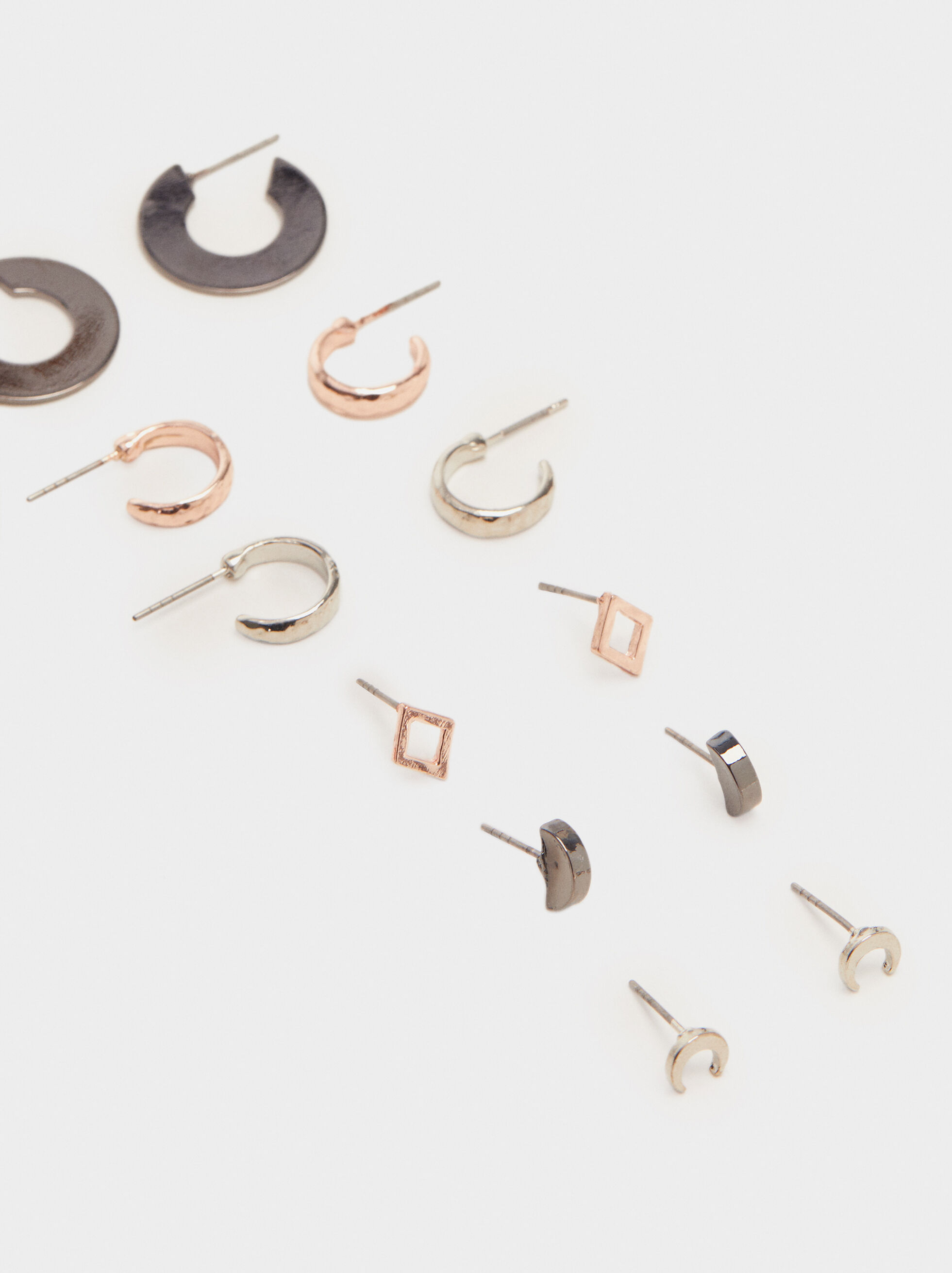 Earring Set, Multicolor, hi-res