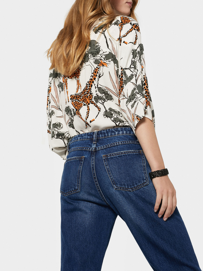 Basic Jeans, Blue, hi-res