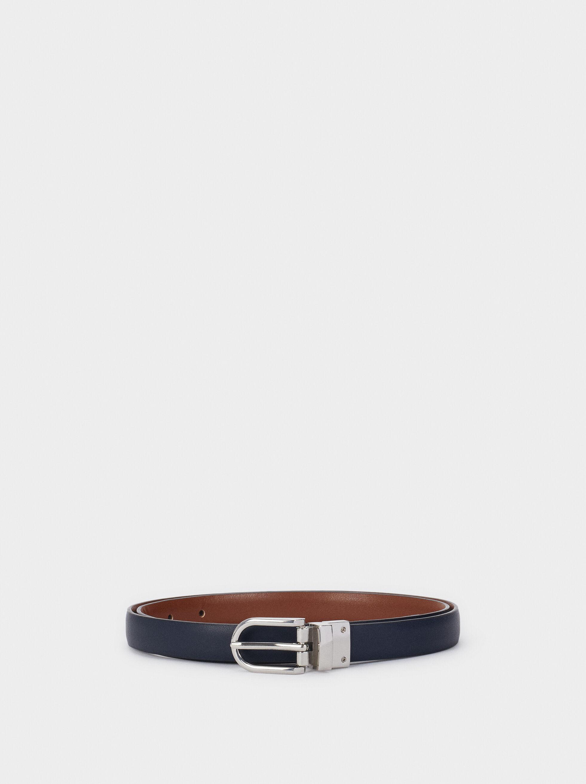Reversible Belt, Brown, hi-res