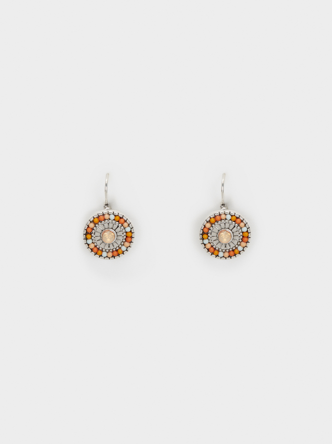 Star Valley Short Earrings, Multicolor, hi-res