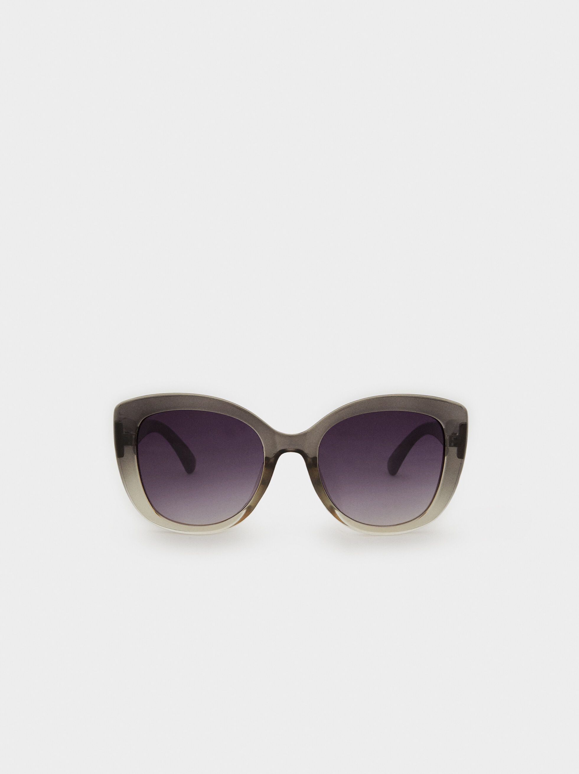 Resin Sunglasses, Grey, hi-res