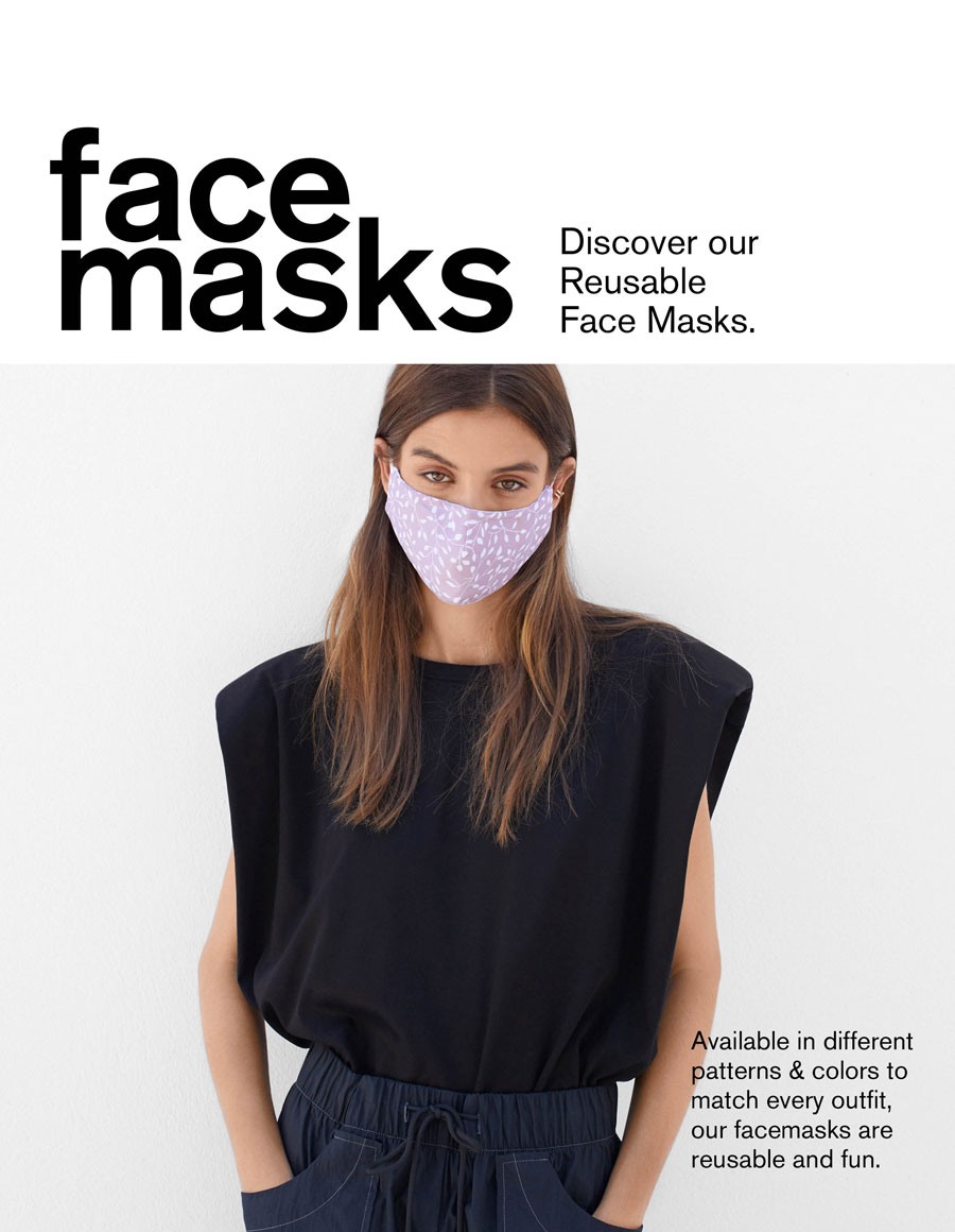 Máscaras Reutilizáveis Certificadas